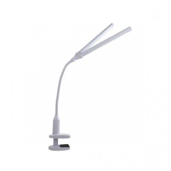 Lampe Blanche Duo sur pince
