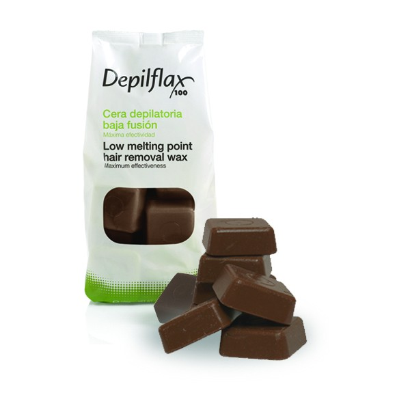 Cire traditionnelle Chocolat en cubes 1Kg