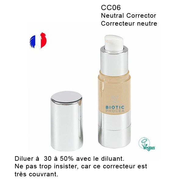 Pigment Airless Colour Correcteurs Biotic Phocéa 13 ml