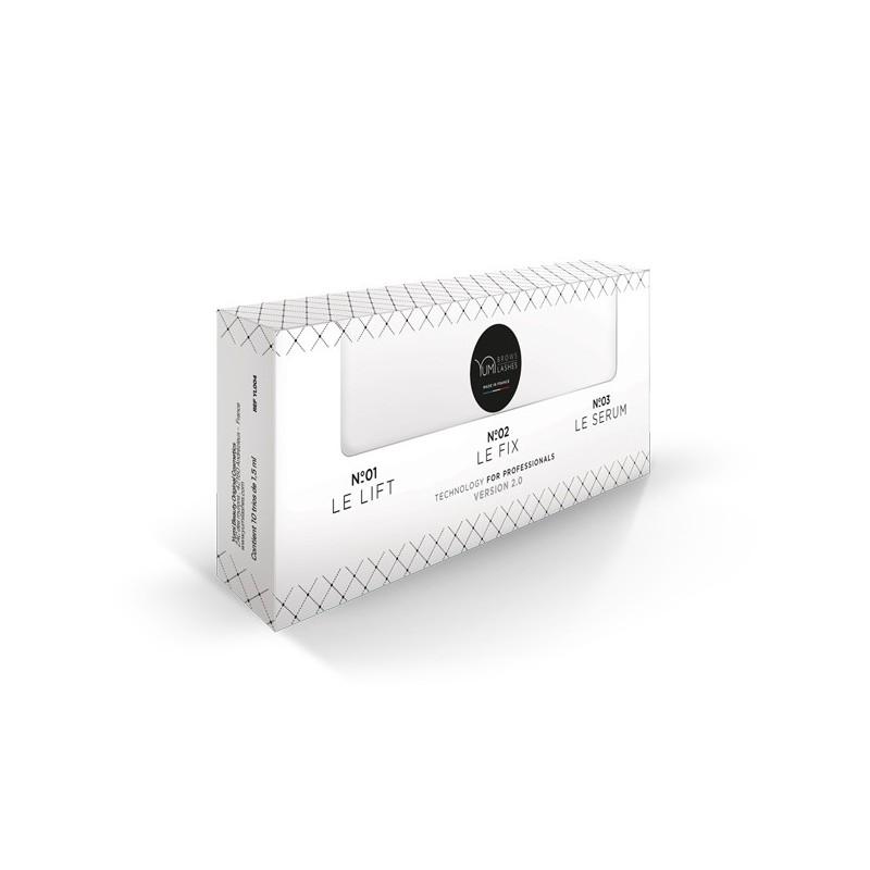 Soin Yuli-Lashes, 10 x 3 sachets (Lift+Fix+Serum)