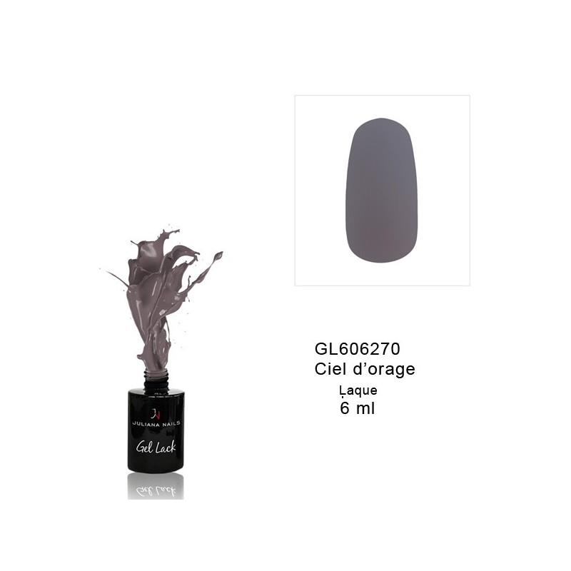Vernis Semi-Permanent Blanc-Gris-Noir 6 ml