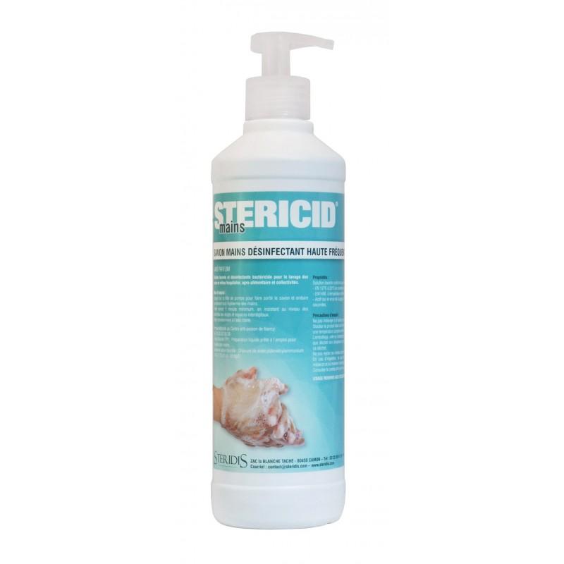 Stérimains , Savon-Bactéricide, flacon-pompe 500ml