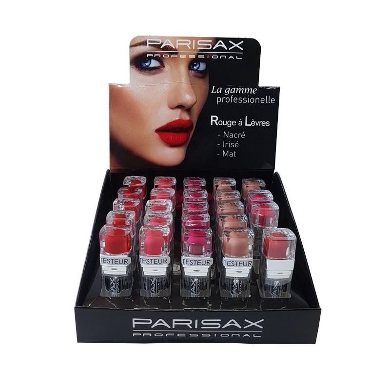 Présentoir 20 Rouges à Lèvres+ 5 Testeurs