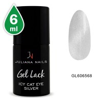 Vernis Semi-Permanent Icy Cat Eye Silver 6 ML