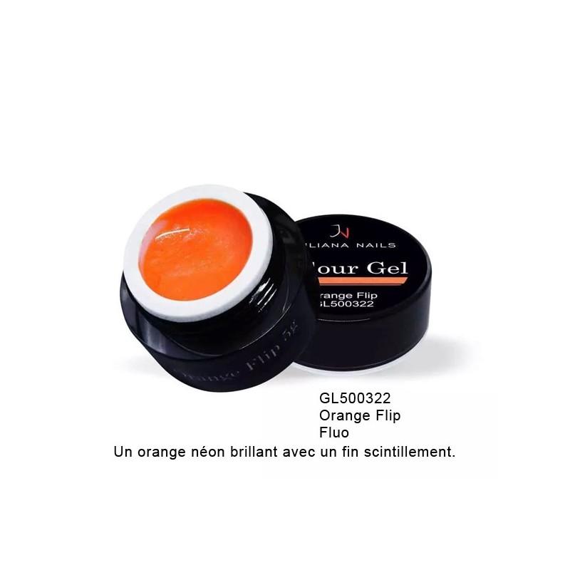 Gel Couleur Orange Flip 5 grs