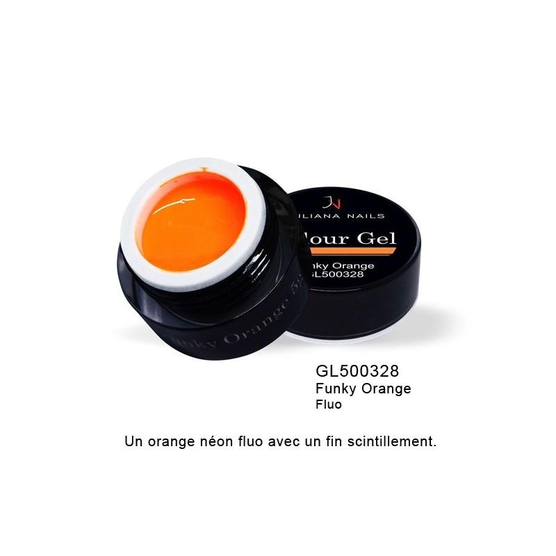 Gel Couleur Funky Orange 5 grs