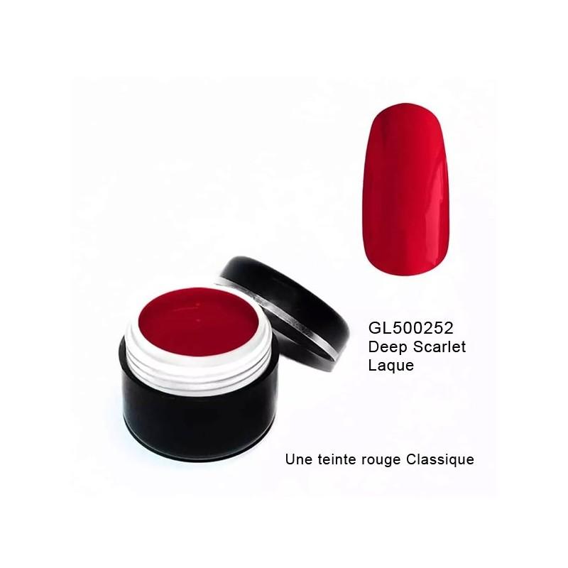 Gel Couleur Deep Scarlet 5 grs