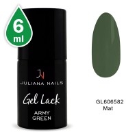 Vernis Semi-Permanent Army Green 6 ML