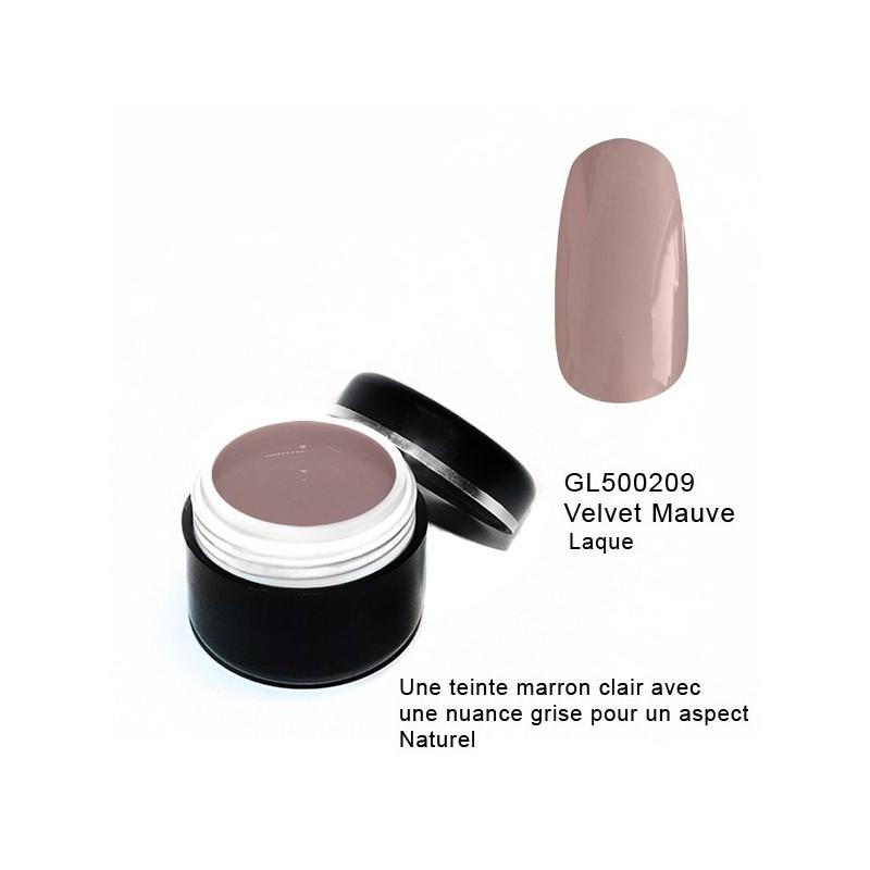 Gel Couleur Velvet Mauve 5 grs
