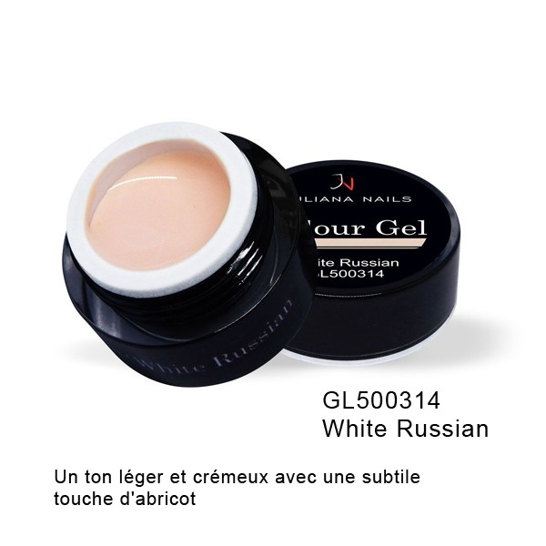 Gel Couleur White Russian 5 grs