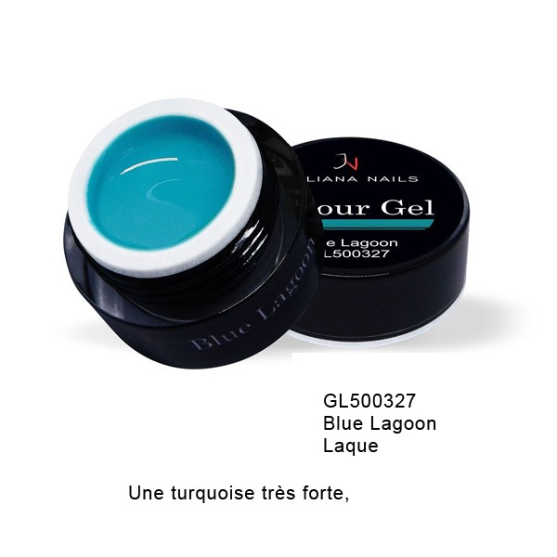 Gel Couleur Blue Lagoon 5 grs