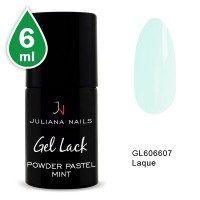 Vernis Semi-Permanent Powder Pastel Mint 6 ML