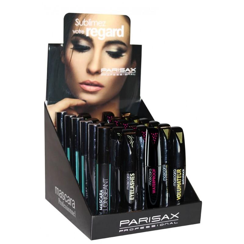 présentoir de 20 mascaras + 4 testeurs Parisax