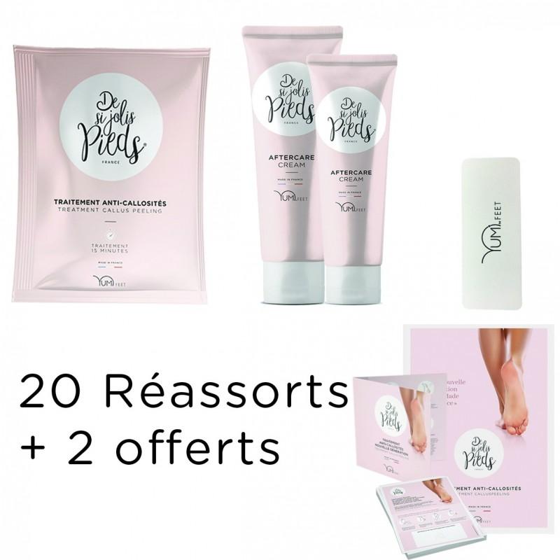 Réassort 20 Soins Yumi Feet + 2 offerts