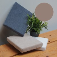 Coussin Manucure Plat Taupe