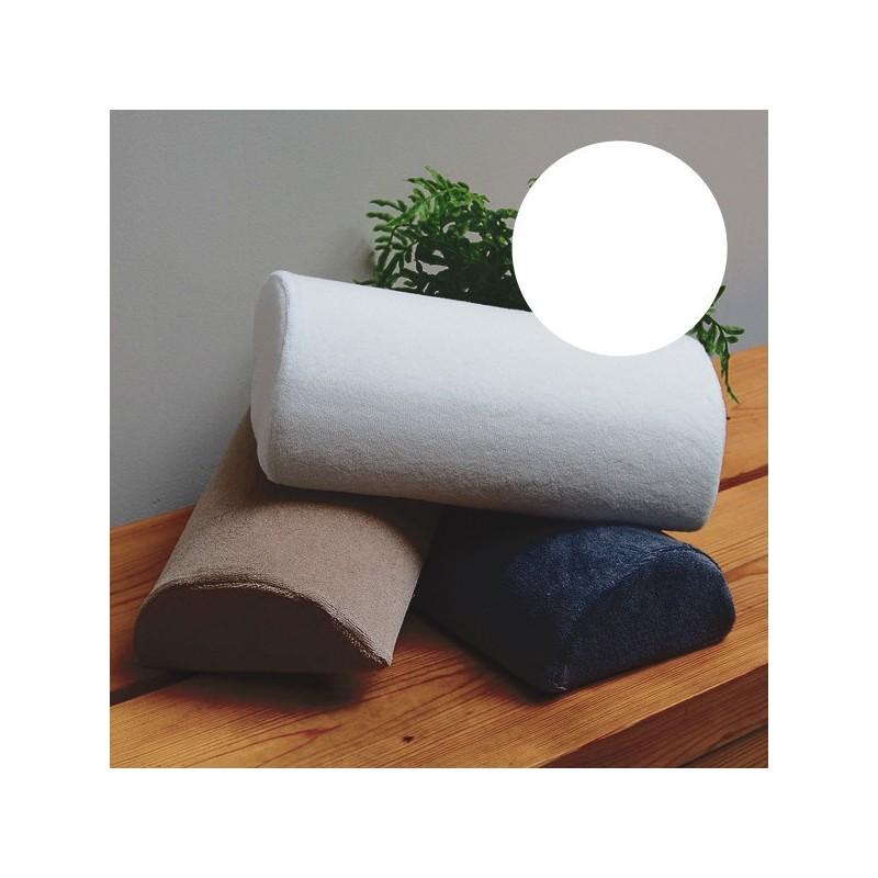 Coussin Manucure Demi-Lune Blanc