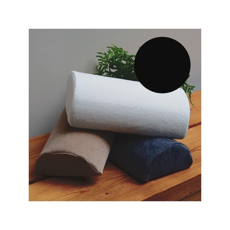 Coussin Manucure Demi-Lune Noir