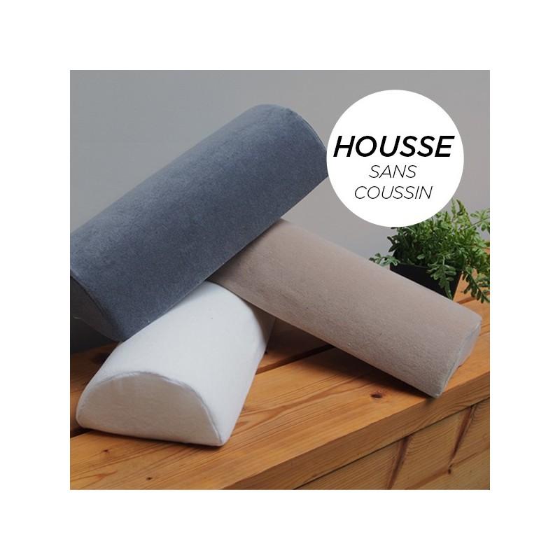 HOUSSE pour Coussin Nuque/Dos/Genou Blanc