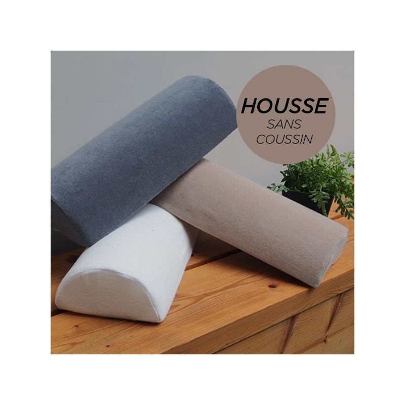 HOUSSE pour Coussin Nuque/Dos/Genou Taupe