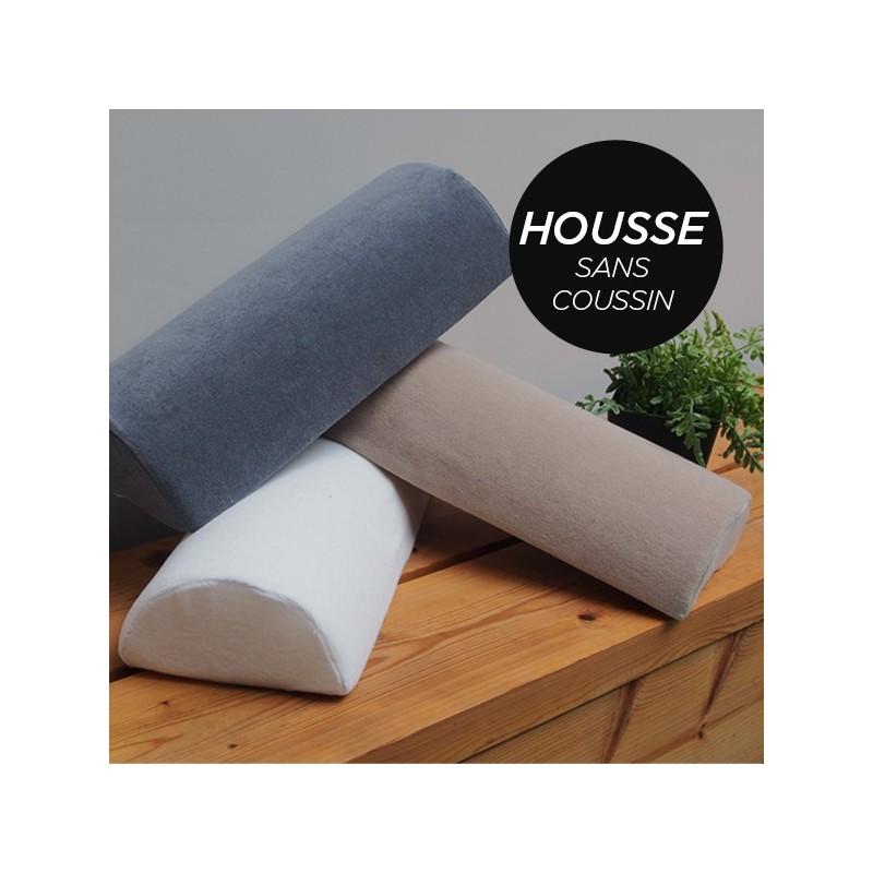 HOUSSE pour Coussin Nuque/Dos/Genou Noir