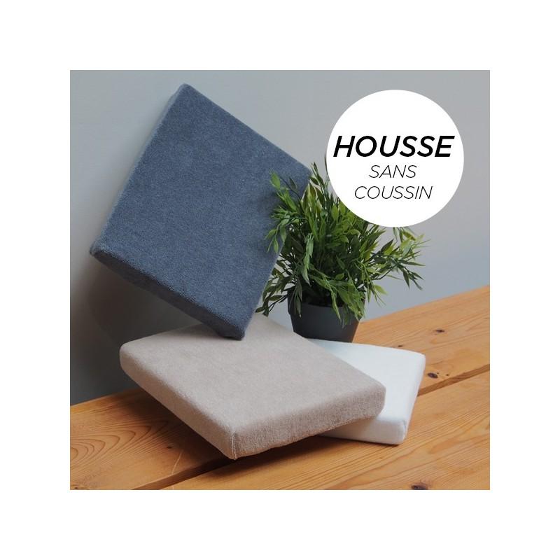HOUSSE pour Coussin Manucure Plat Blanc
