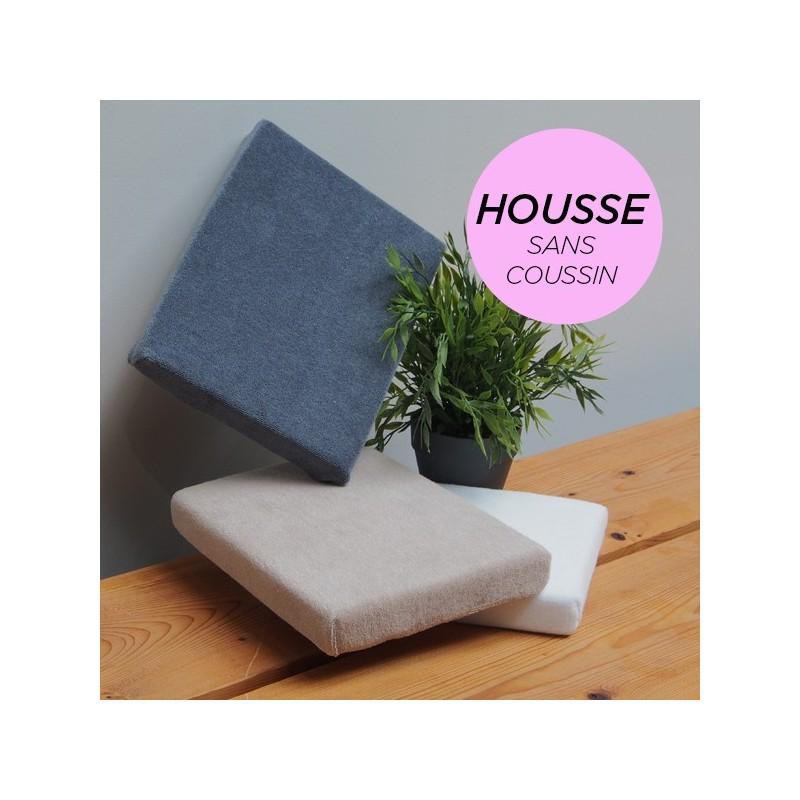 HOUSSE pour Coussin Manucure Plat Rose Poudré