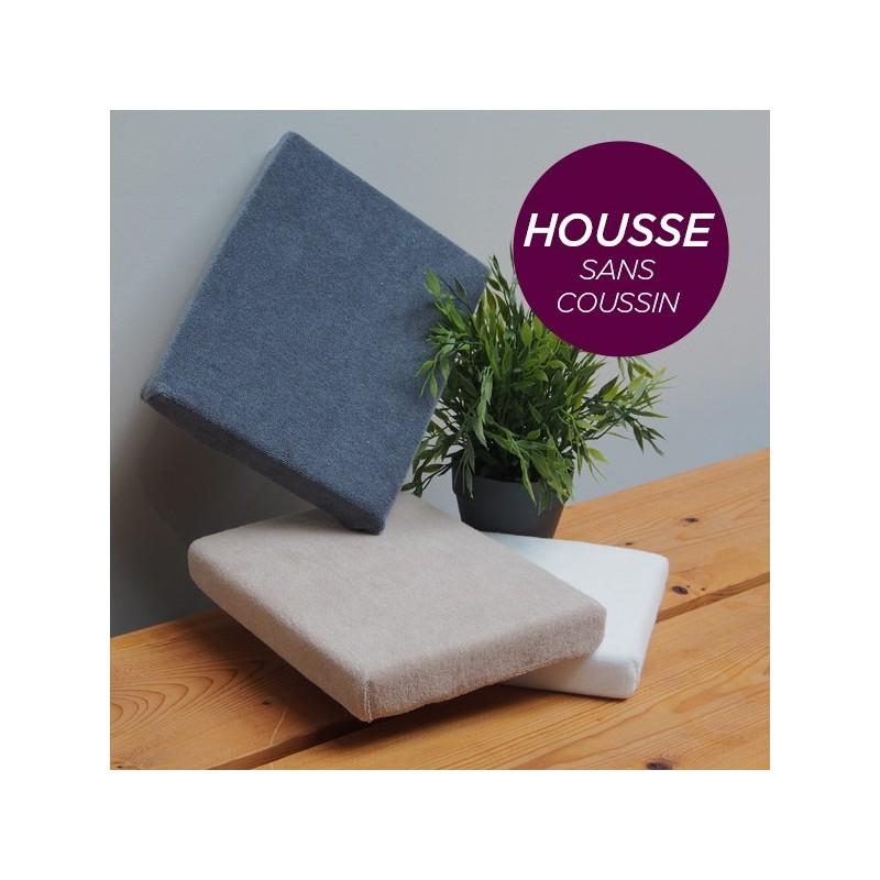 HOUSSE pour Coussin Manucure Plat Aubergine