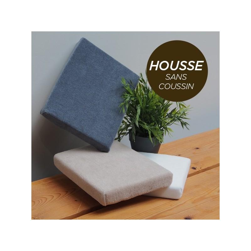 HOUSSE pour Coussin Manucure Plat Chocolat