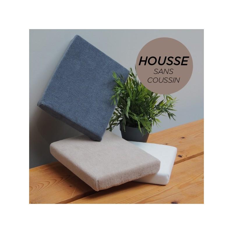 HOUSSE pour Coussin Manucure Plat Taupe