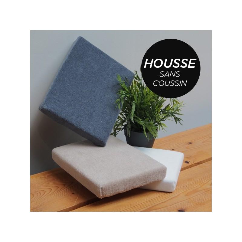 HOUSSE pour Coussin Manucure Plat Noir