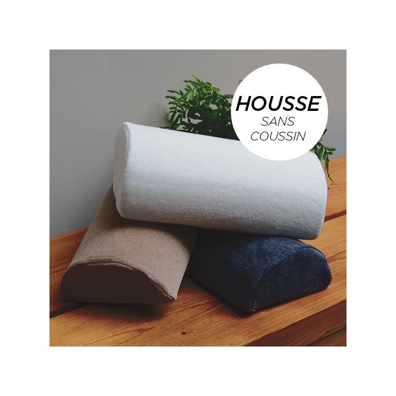 HOUSSE pour Coussin Manucure Demi-Lune Blanc