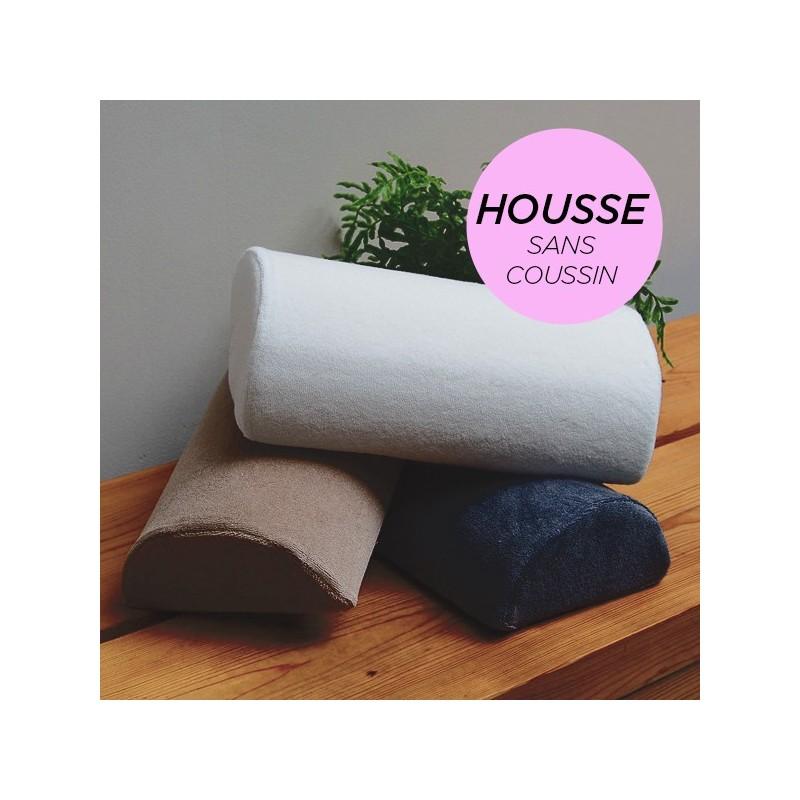HOUSSE pour Coussin Manucure Demi-Lune Rose Poudré