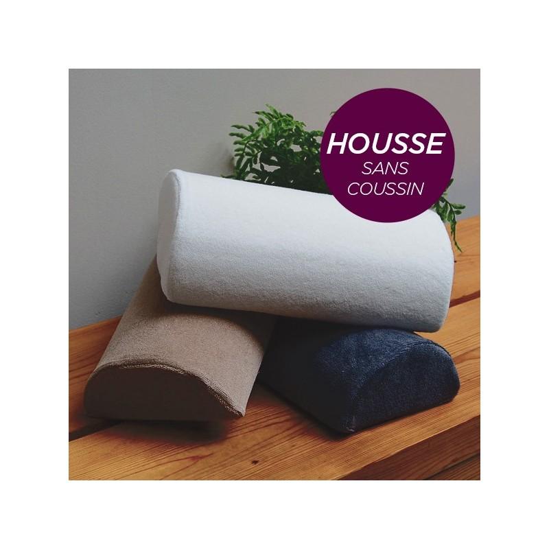 HOUSSE pour Coussin Manucure Demi-Lune Aubergine
