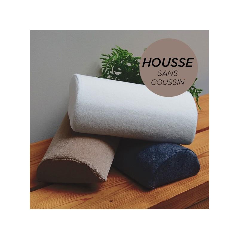 HOUSSE pour Coussin Manucure Demi-Lune Taupe