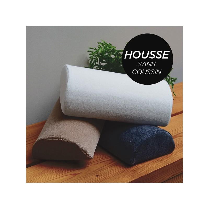 HOUSSE pour Coussin Manucure Demi-Lune Noir