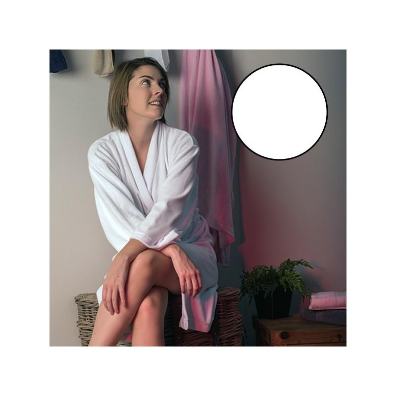 Peignoir Prestige Femme Blanc