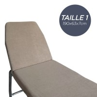Housse pour Table Taille 1 Gris Anthracite