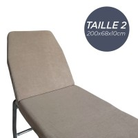 Housse pour Table Taille 2 Gris Anthracite
